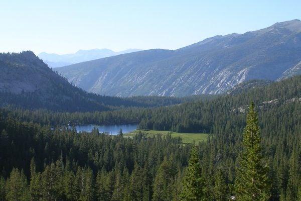 Grassy Lake in the John Muir Wilderness
