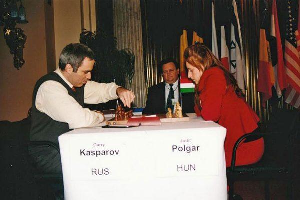 Judit Polgar Beast Garry Kasparov