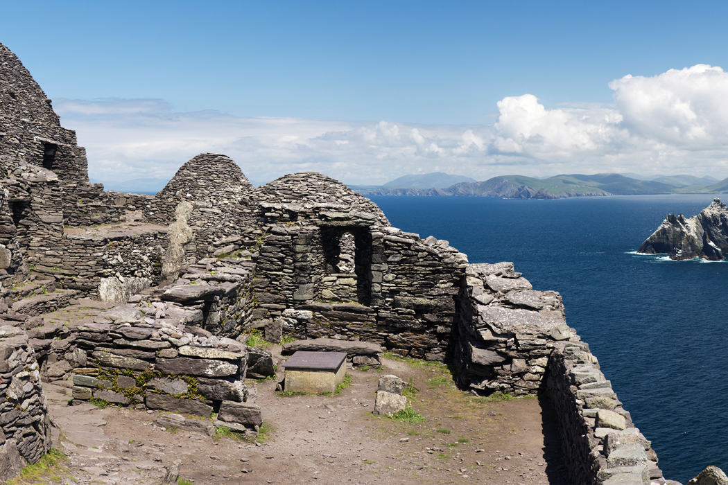 Skellig Michael where they are filming Star Wars Episode VII