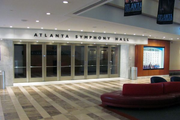 Atlanta Symphony Hall - empty