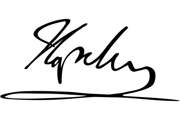 Napoleon's signature