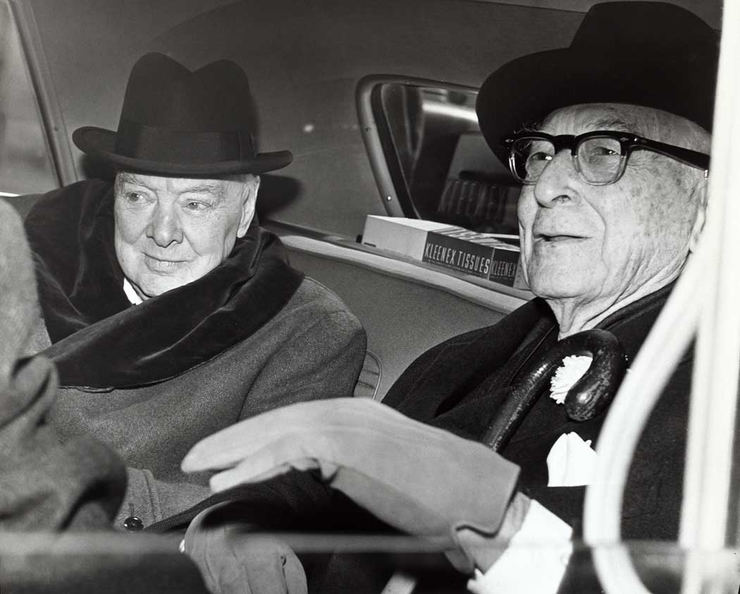 Winston Churchill and Bernard Baruch