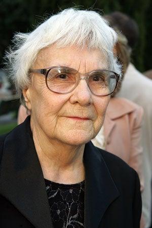 Novelist Harper Lee