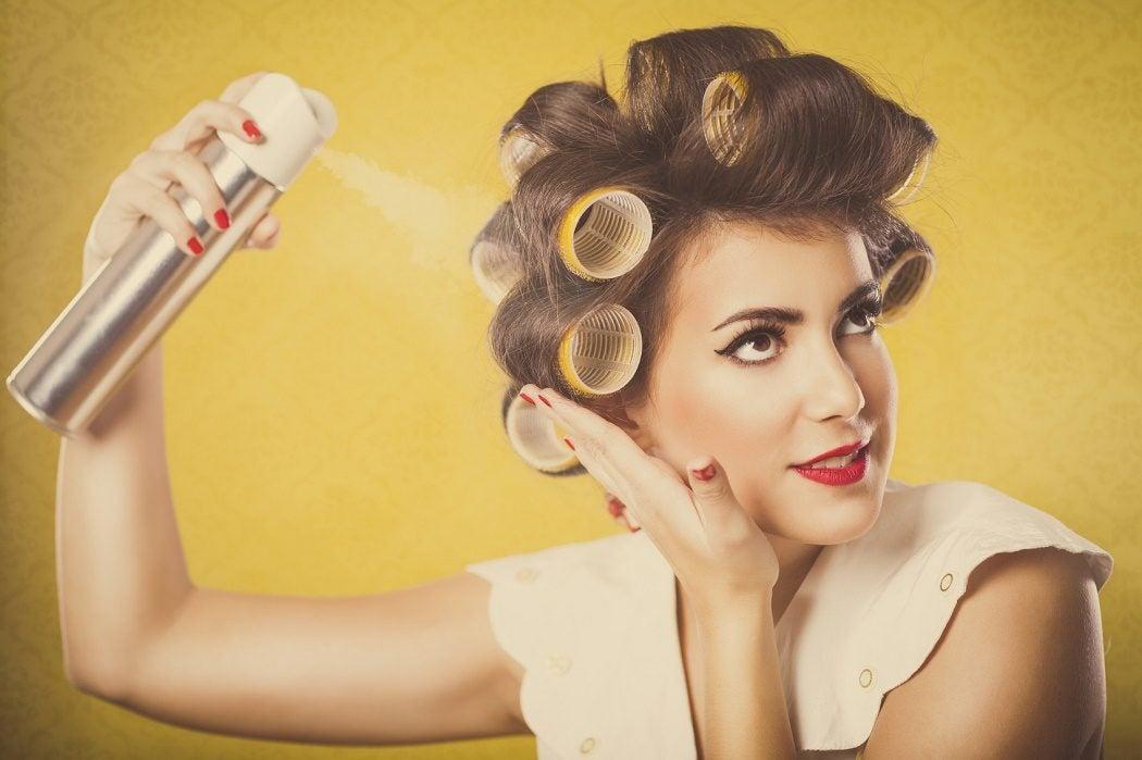 Using Hairspray On Natural Hair