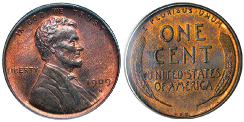 1909 Lincoln Penny