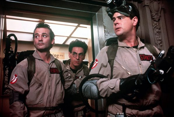 Ghostbusters (1984)  Dan Aykroyd, Bill Murray, Harold Ramis Credit: Columbia/Courtesy Neal Peters Collection