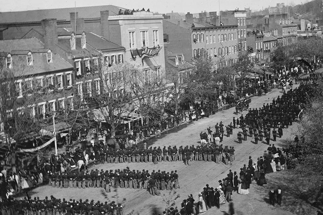Lincoln's funeral in DC