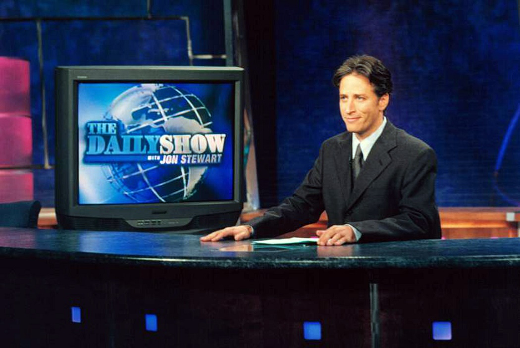 The Daily Show Jon Stewart Comedy Central/Courtesy Neal Peters Collection
