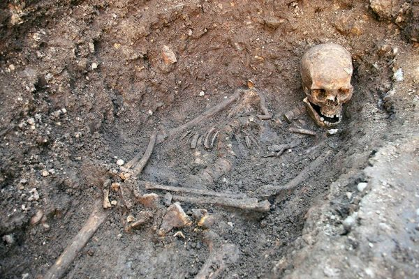 Photo: AP Images LEICESTER UNIVERSITY COMFIRM THE SKELETAL REMAINS FOUND AT THE GREY FRIARS DIG ARE THAT OF RICHARD III