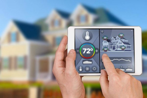 Smart home automation: remote controlling house temperature