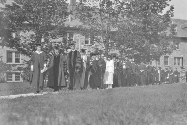 """Western College Commencement procession 1932 (3195482392)"" by Snyder, Frank R.Flickr: Miami U. Libraries - Digital Collections - https://www.flickr.com/photos/muohio_digital_collections/3195482392/. Via Wikimedia Commons"