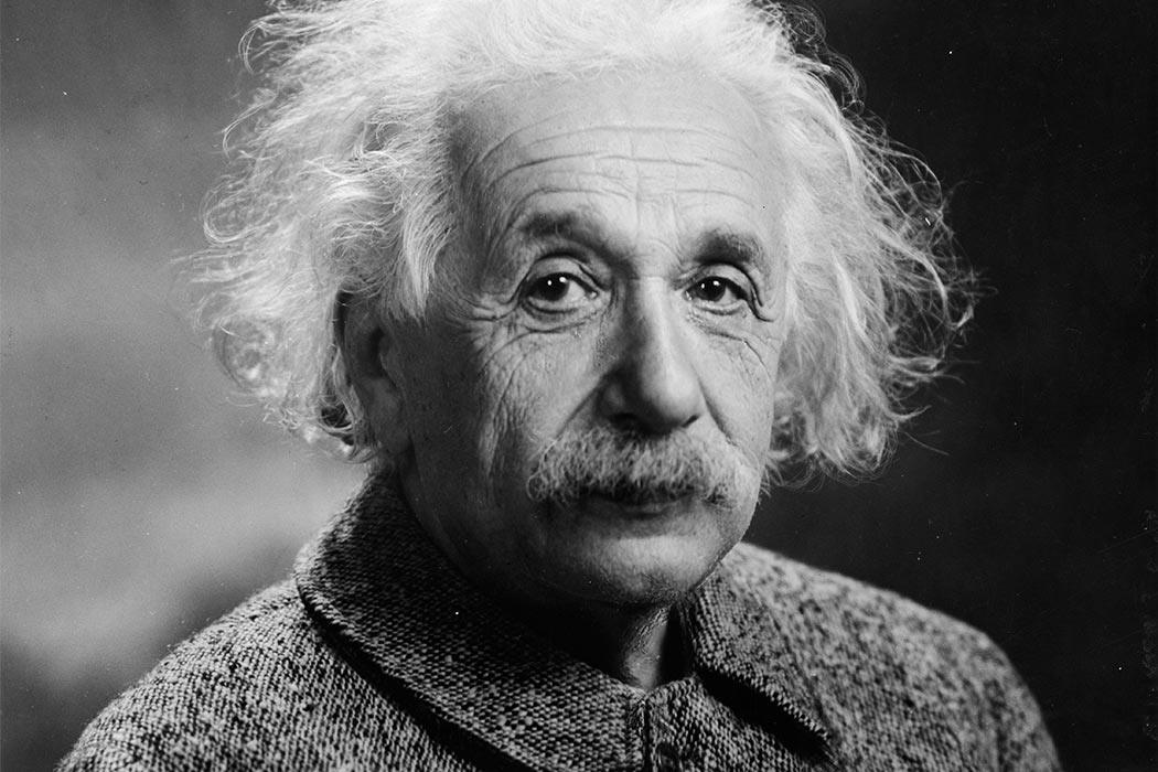 """Albert Einstein 1947"" by Photograph by Oren Jack Turner, Princeton, N.J. - The Library of Congress. Licensed under Public Domain via <a href=""https://commons.wikimedia.org/wiki/File:Albert_Einstein_1947.jpg#/media/File:Albert_Einstein_1947.jpg"" target=""_blank"">Wikimedia Commons</a>"