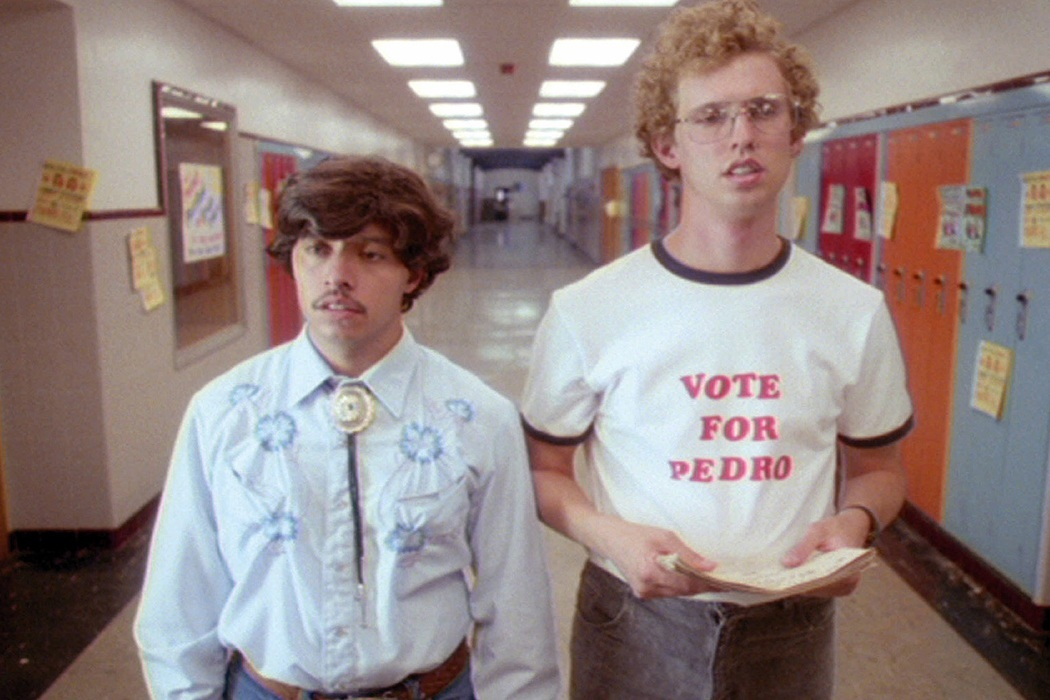 Napoleon Dynamite (2004) Jon Heder and Efren Ramirez   Credit: Paramount Pictures/Courtesy Neal Peters Collection