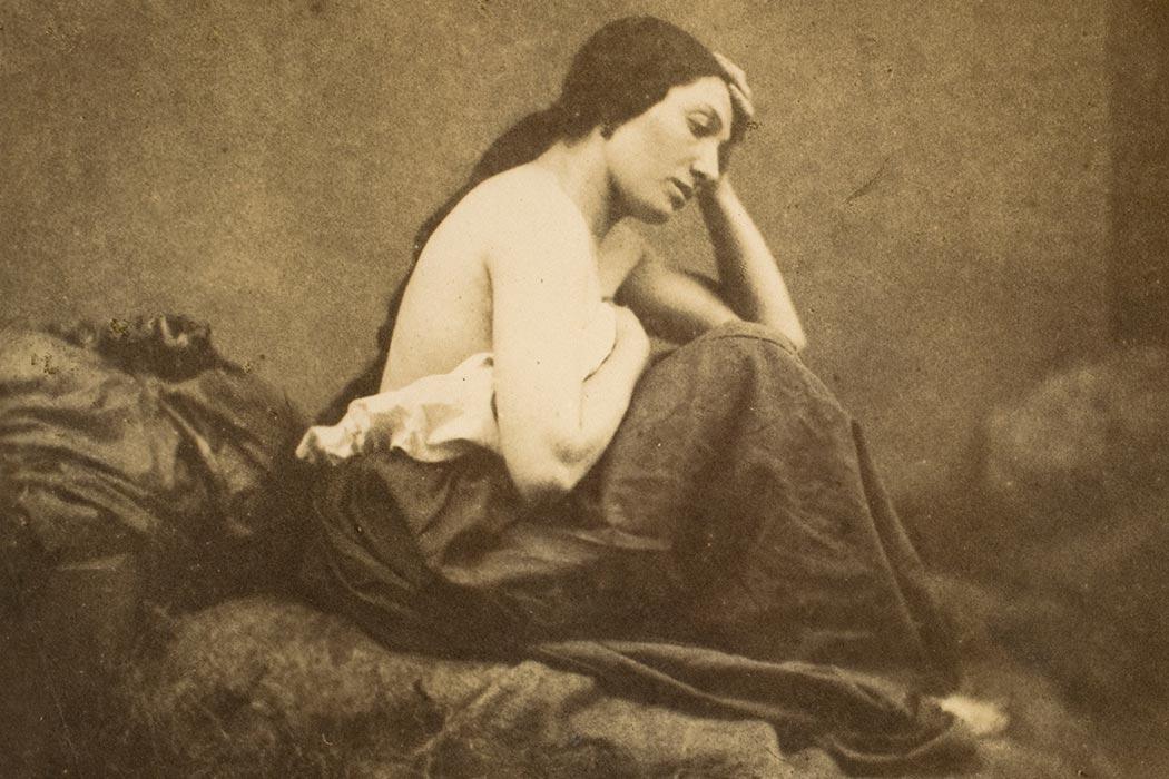 Eugène Durieu - Female portrait
