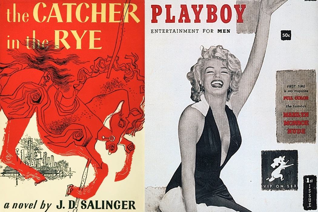 Cover of the book The Catcher in the Rye written by J. D. Salinger.
