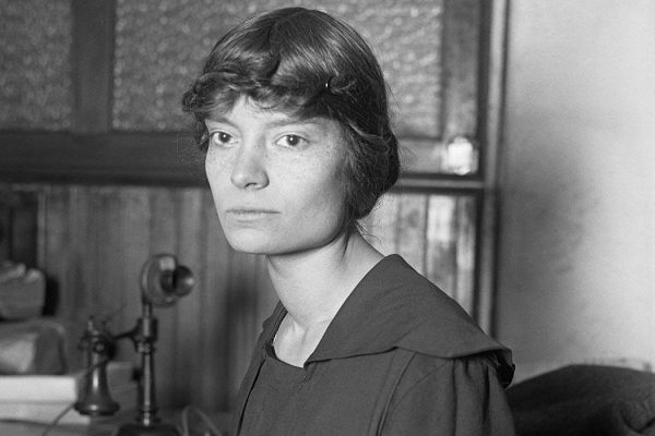 Original caption: 12/31/1916-Dorothy Day (1897-1980), American journalist and reformer, born in Brooklyn, NY. (Copyright Bettmann/Corbis / AP Images)