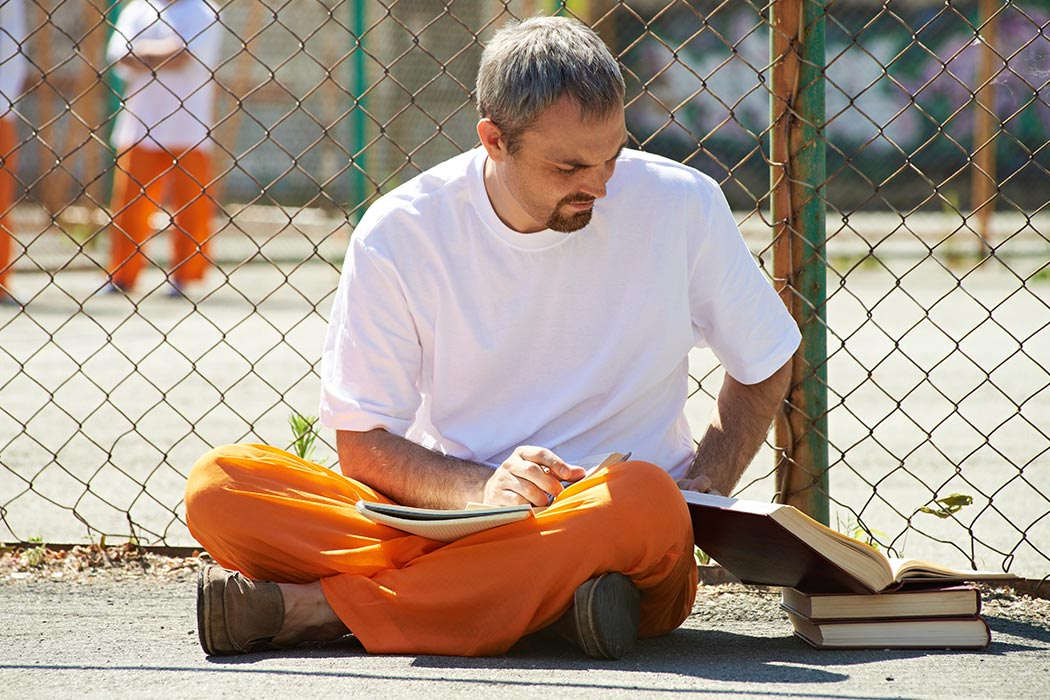 Imprisoned student