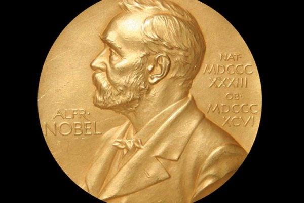 Front of Nobel Prize medal