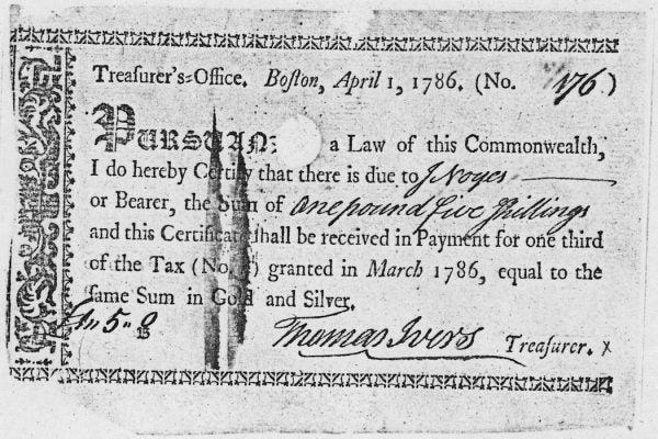 A U.S. Treasury Note