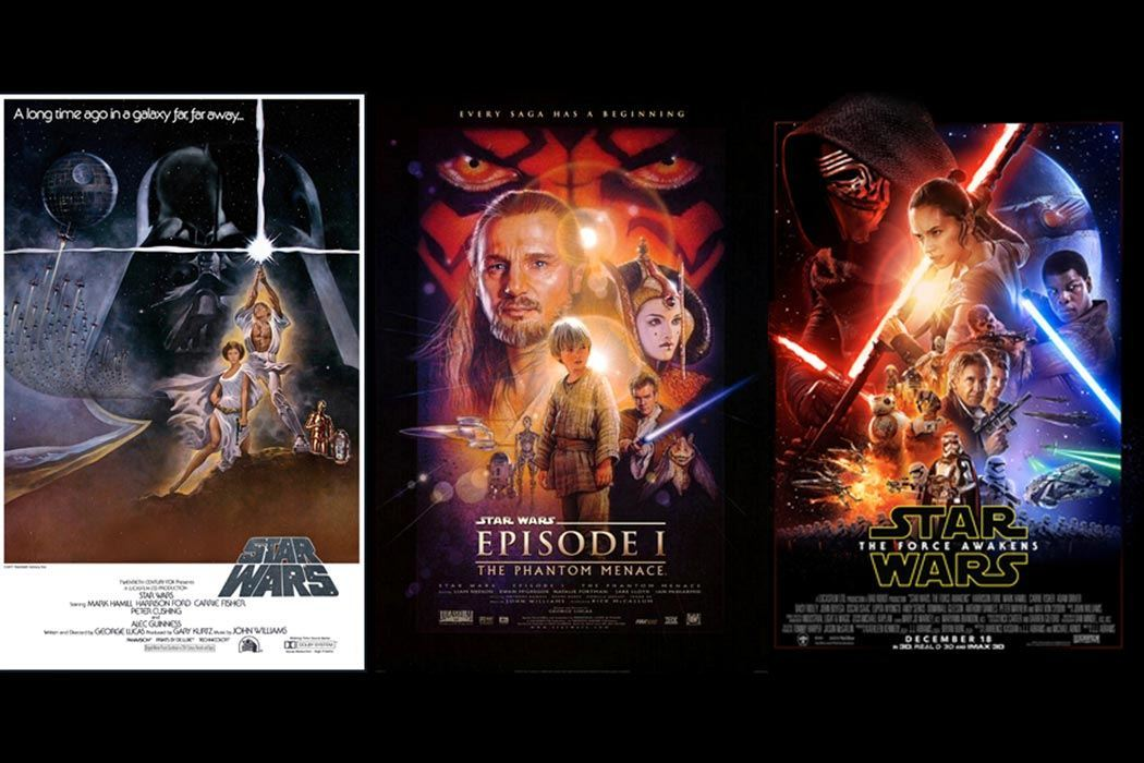 Movie Posters 1999: The War On Star Wars