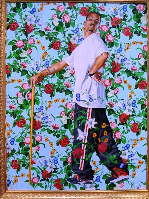 Le Roi a la Chasse by Kehinde Wiley