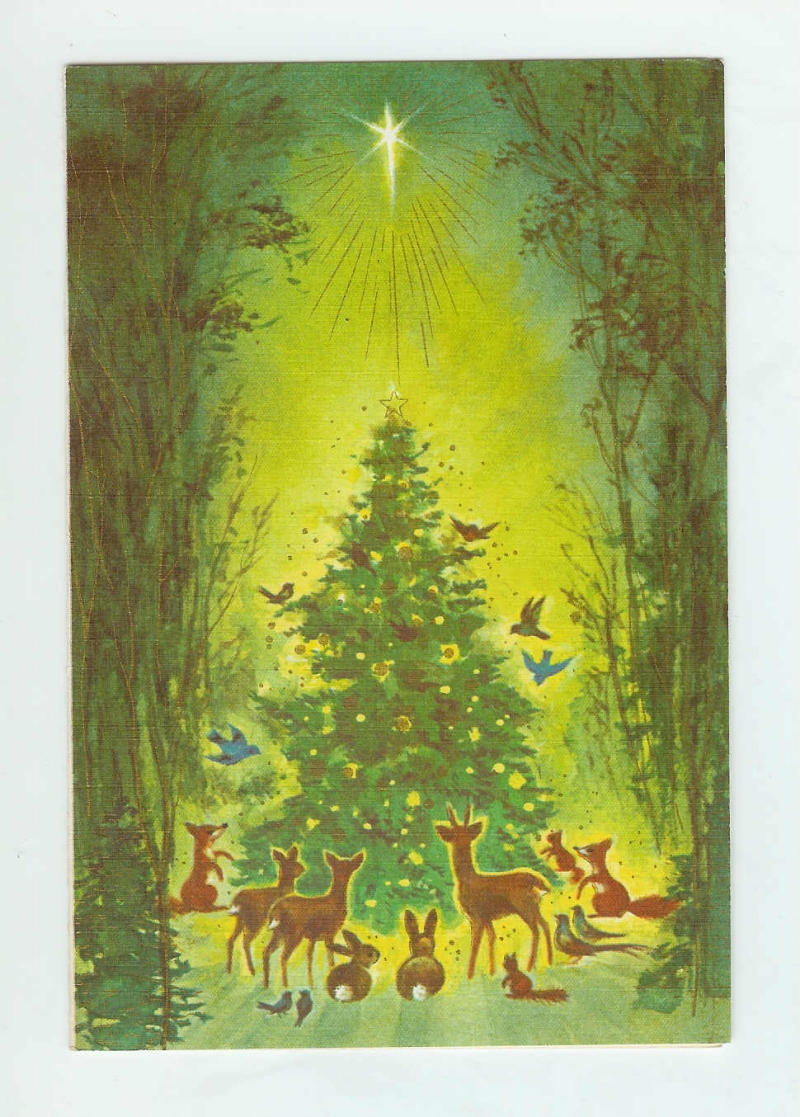 A Brief History Of The Holiday Card Jstor Daily