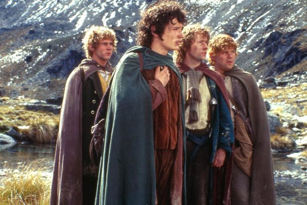 Hobbits from The Lord of the Rings. Photo credit: Neal Peters Collection