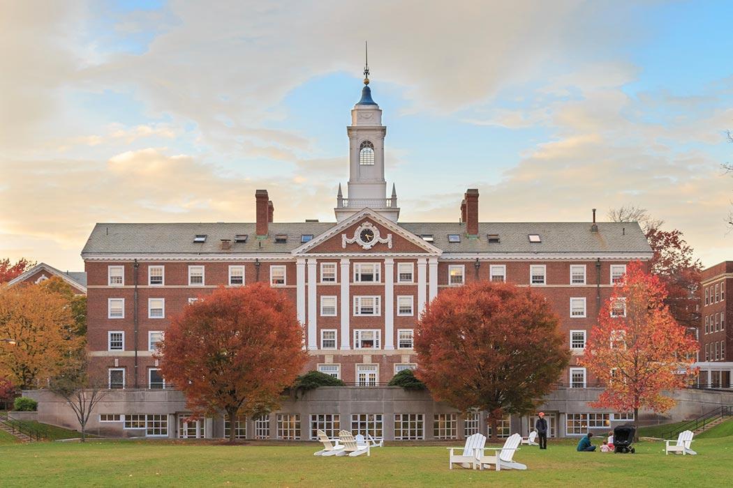 Radcliffe Quad undergrad housing at Harvard University