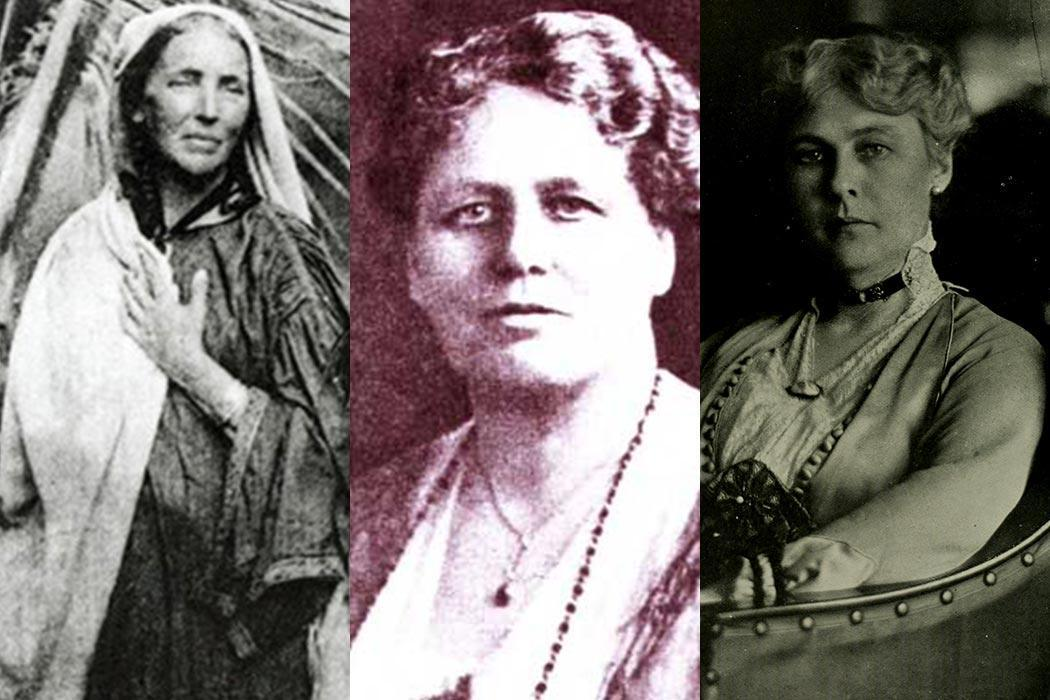 Marianne North, Katherine Routledge and Delia Akeley