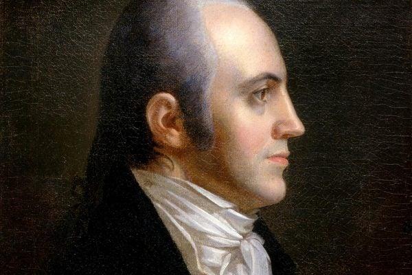 Portrait of Aaron Burr, 1802
