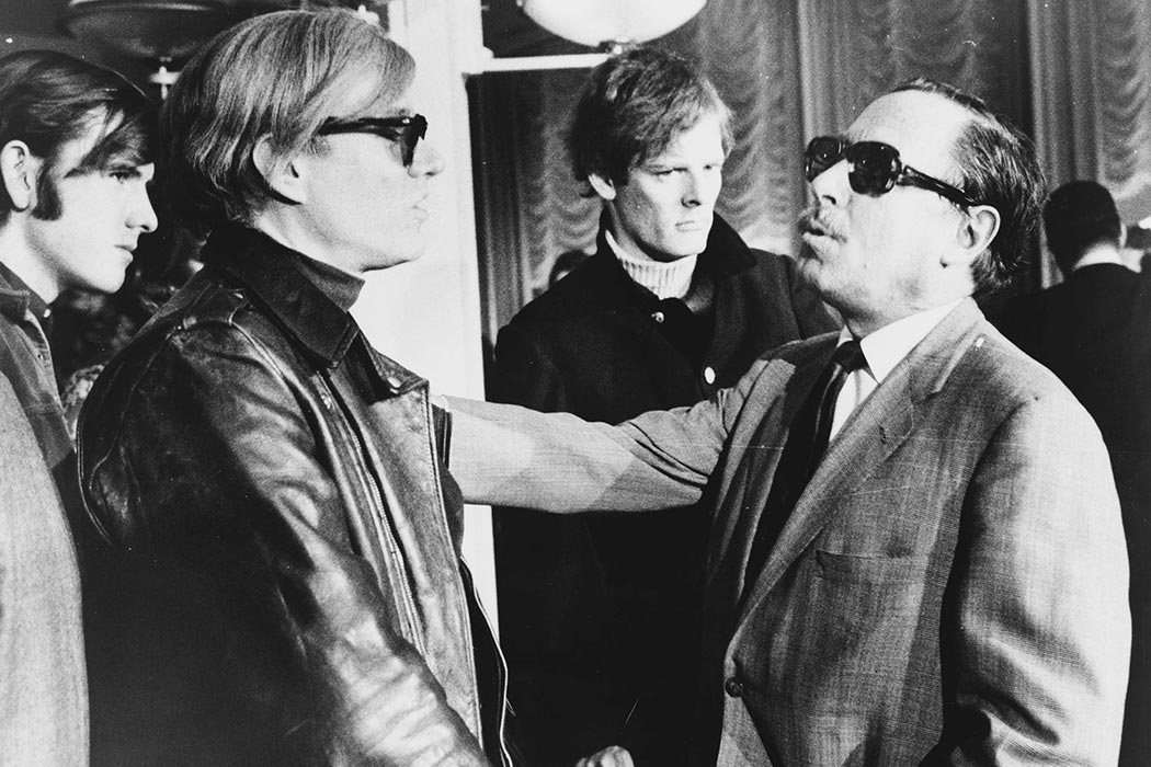 Andy Warhol and Tennessee Williams