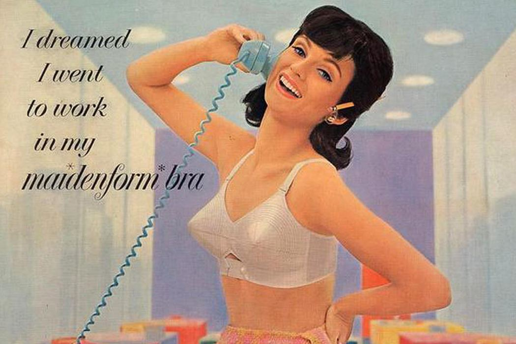 Vintage Maidenform ad.