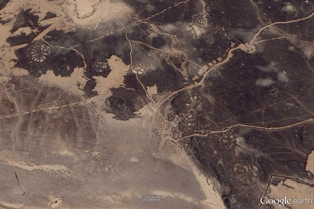 Nazca lines, Saudi Arabia Photo Credit: Google Earth