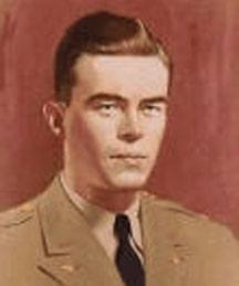 A portrait of John Birch, U.S. spy killed by Chinese communists.