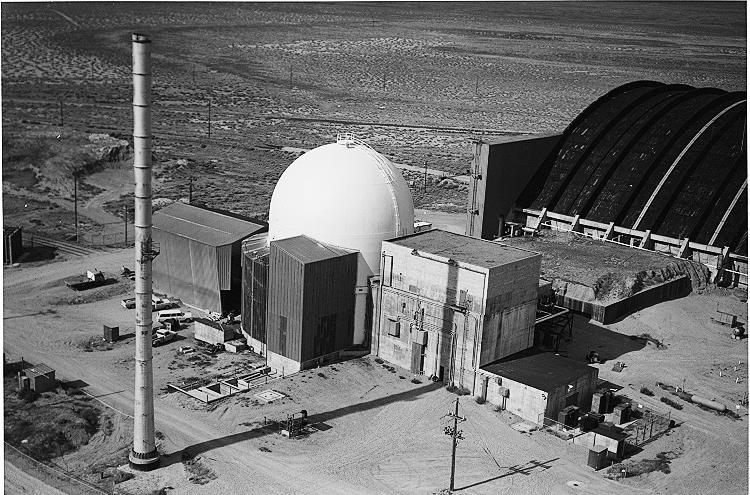 Research reactor Loss of Fluid Test, Idaho National Laboratory.