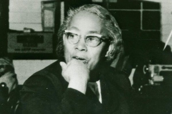 Photograph of Septima Clark, ca. 1960, Avery Photo Collection, 10-9, Courtesy of the Avery Research Center.