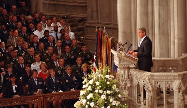 President George W. Bush on first National Day of Prayer and Remembrance