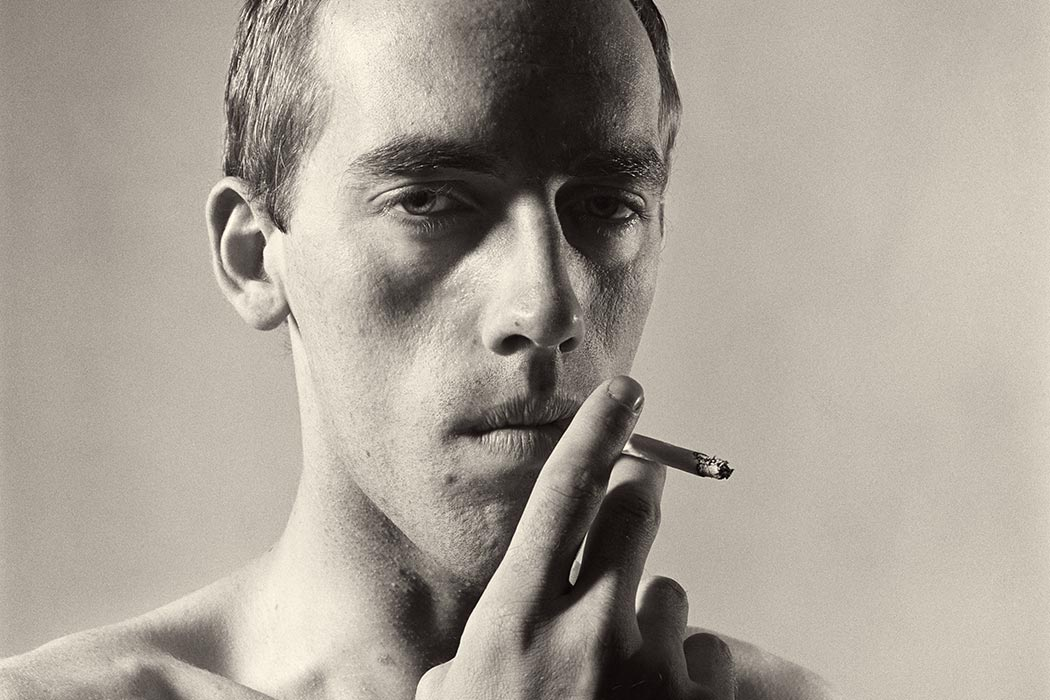 David Wojnarowicz Smoking, 1981 Peter Hujar © 1987 The Peter Hujar Archive LLC; Courtesy Pace/MacGill Gallery, New York and Fraenkel Gallery, San Francisco