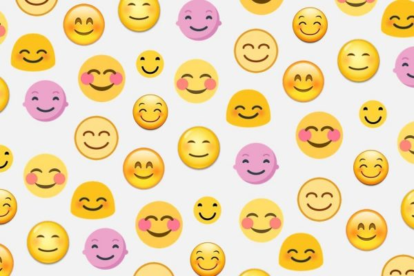 Happy emojis