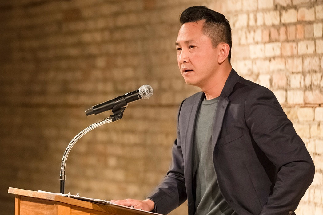 Viet Thanh Nguyen Photo courtesy of Anna Min