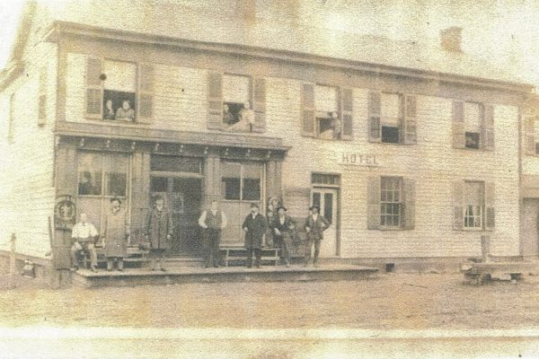 Poling Hotel and Saloon Laurelville OH Approx 1903