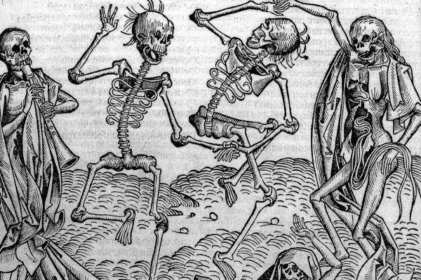 Dancing Skeletons, 'Dance of Death' Rare Books Keywords: epb 5822
