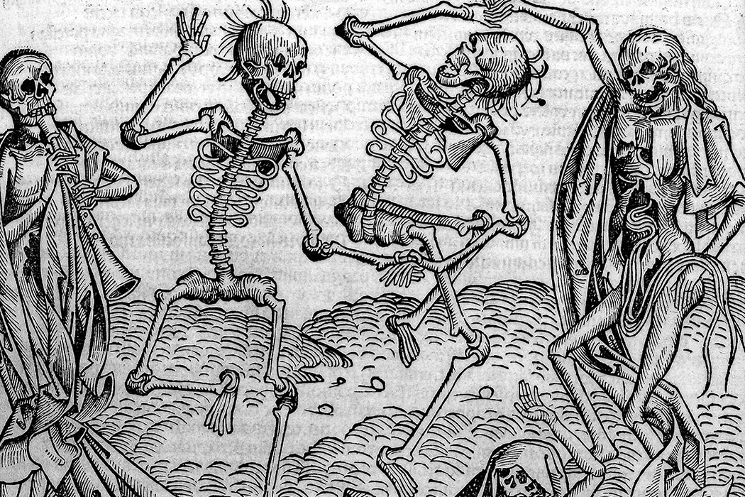 Dancing Skeletons, 'Dance of Death' Rare Books Keywords: epb 5822