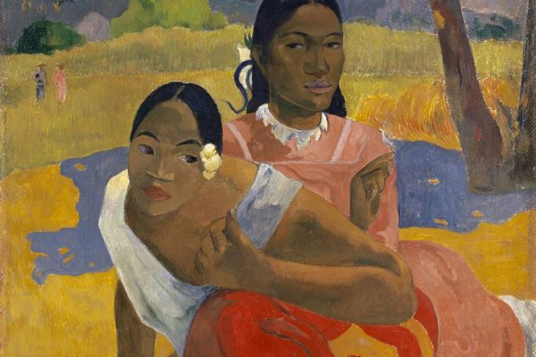 Paul Gauguin, Nafea Faa Ipoipo? (When Will You Marry? ) 1892, oil on canvas, 101 x 77 cm