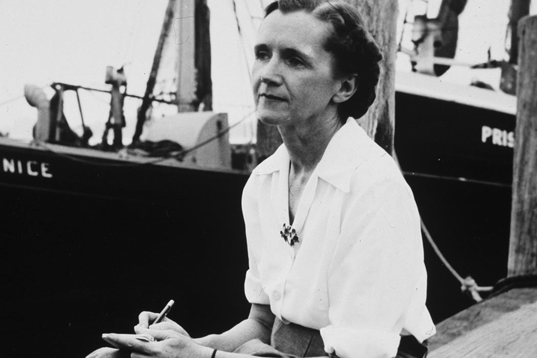 Rachel Louise Carson (May 27, 1907 – April 14, 1964)
