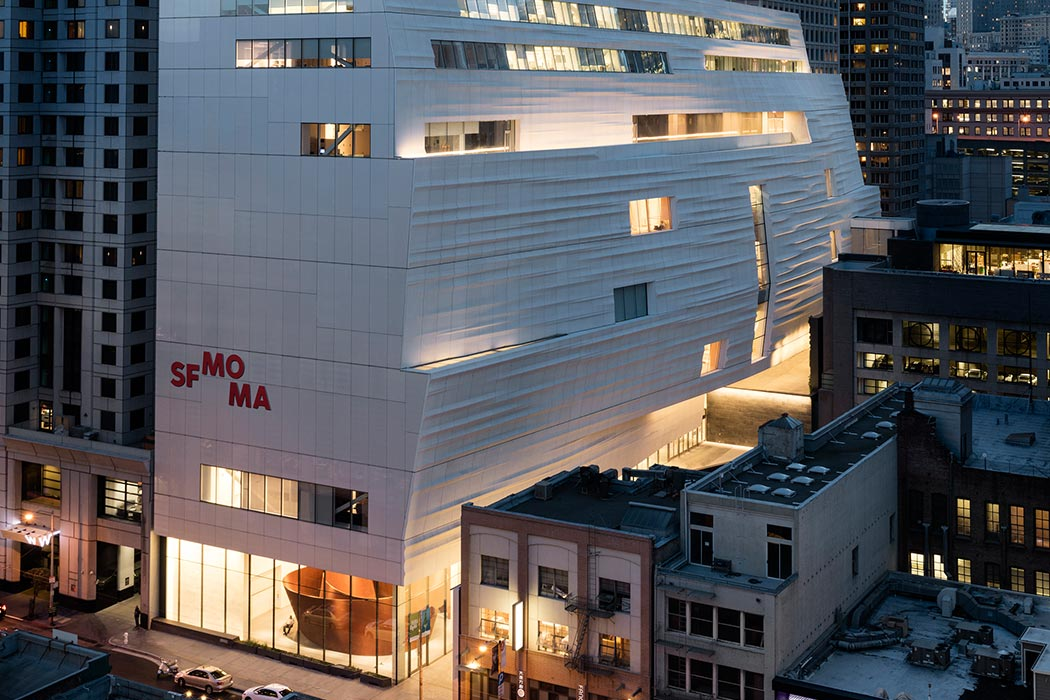 Snøhetta expansion of the new SFMOMA, 2016; photo © Henrik Kam, courtesy SFMOMA