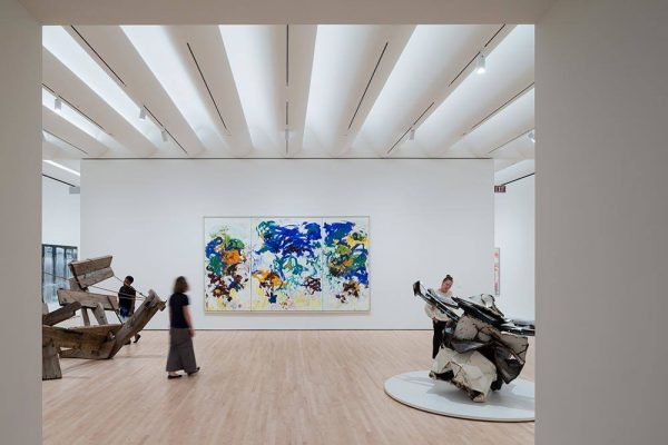 Approaching American Abstraction The Fisher Collection exhibition; photo © Iwan Baan, courtesy SFMOMA