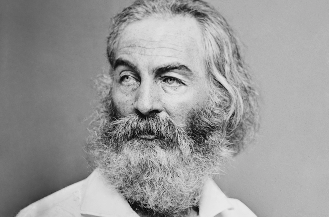 Walt Whitman as photographed by Brian Handy