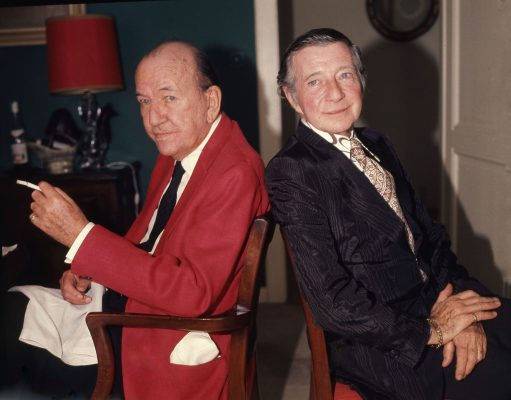 Noel Coward and Cole Lesley