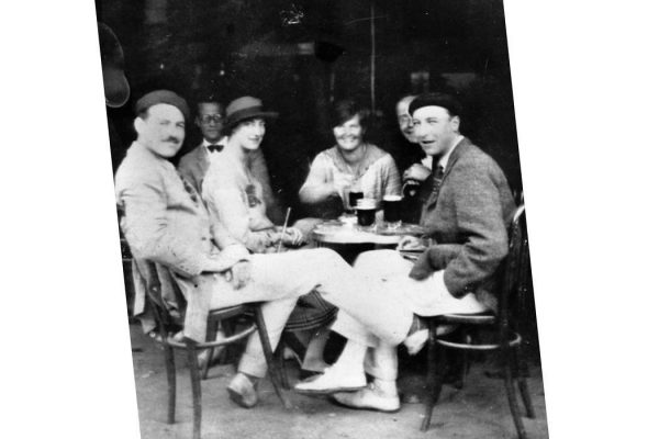 Hemingway and friends